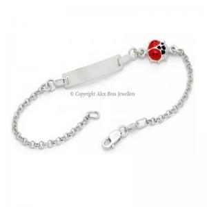 Beetle ID Silver Bracelet