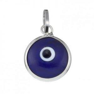 Dark Blue Plain Mataki Pendant
