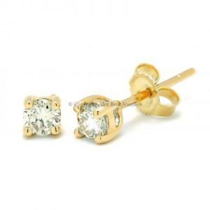 Diamond Claw Earstuds