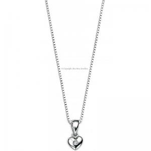 DIAMOND-SET-LOVE-HEART-NECKLACE