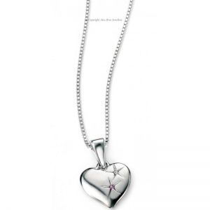 DIAMOND-SET-LOVE-HEART-NECKLACE-WITH-AMETHYST-STONE
