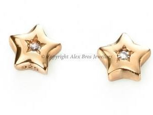 DIAMOND SET WISH UPON A STAR STUD