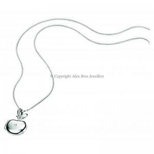 Diamond Ser Apple LockeT and Chain