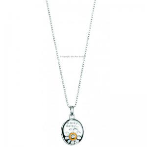 Diamond-set-Daisy-Pendant-and-Chain
