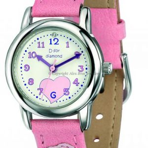 Girls Pink Watch