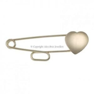 Heart Slide Through Brooch