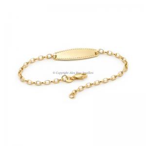 Oval ID Bracelet