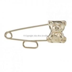 Teddy Slide Through Brooch