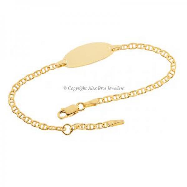 Anchor Link ID Bracelet