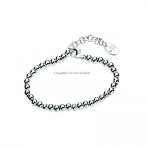 Diamond Set Small Ball Bracelet