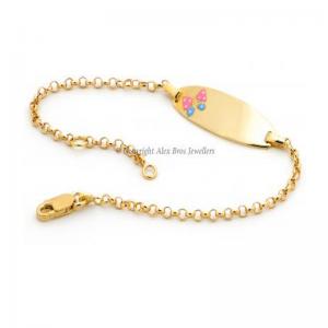 Butterfly ID Bracelet