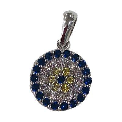 9ct-solid-white-gold-cz-mosaic-eye-pendant