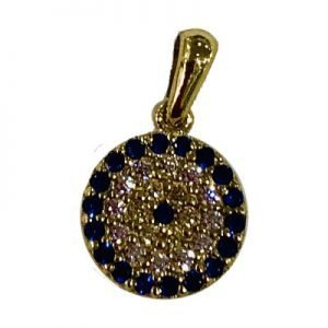 9ct-solid-yellow-gold-cz-mosaic-eye-pendant