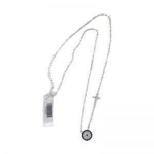 sterling-silver-mosic-cz-eye-and-cz-coss-necklace-$110.00